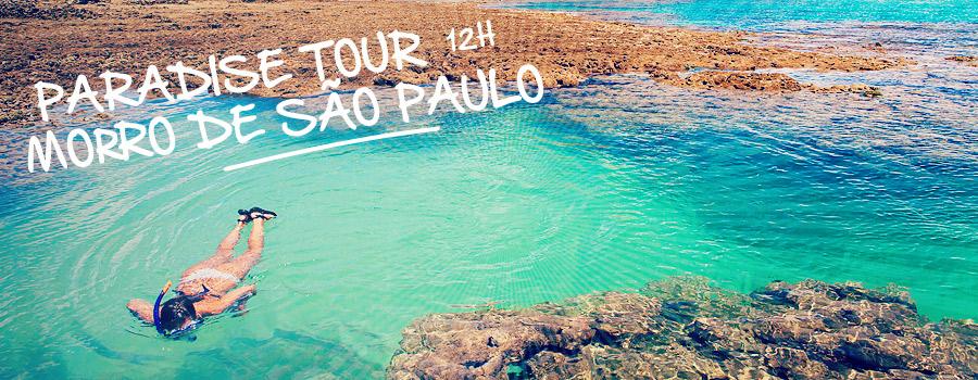 Paradise Morro de São Paulo Island Tour