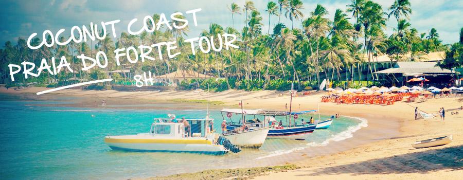 Praia do Forte North Coconut Cost